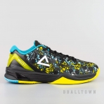 PEAK Basketball Shoes Blue/Yellow (EW7201A)