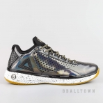PEAK Basketball Shoes Black/Silver Grey (E64323A)