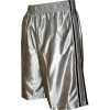 Converse Athletic Basketball Shorts Silver