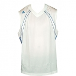 ADIDAS basketball performance cap jersey (bielo-modrý)