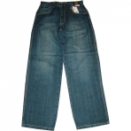 SIR BENNI MILES BAGGY FIT MID SAND JEANS
