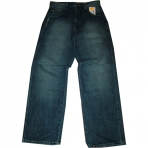 SIR BENNI MILES BAGGY FIT DARK BLUE SAND JEANS
