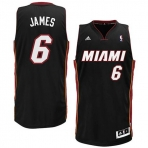 Adidas James Miami Heat Swingman Jersey