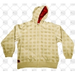 INFAMOUS BLACK SHEEP OVER OFL ZIP HOOD TAN