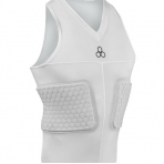 McDAVID V-Neck Sleeveless Shirt White