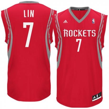 Adidas Lin Hoston Rockets Replica Jersey