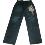 UNK 100 PERCENT LOGOMAN DENIM JEAN